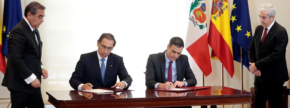 Perú y España suscriben Acta final XI reunión Comisión Mixta de Cooperación